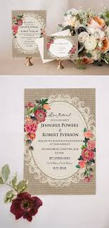 vintage wedding invitations cheap best 25 rustic wedding invitations cheap ideas on