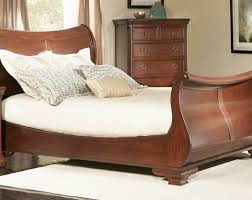 Oak Sleigh Bed Full Size Sleigh Bed For Your Bedroom Designtilestone Com