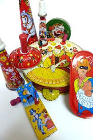 vintage new year s noisemakers vintage new years vintage new years tin litho noisemakers