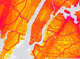 Where Is New York City On A Map National Noise Map Charts Americans U0027 Aural Misery Wired