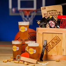 gifts for basketball fans nba barware man crate man crates