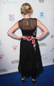 2nd Light Bell In Alberta Ferretti Dress At 2nd Light Up The Blues Concert