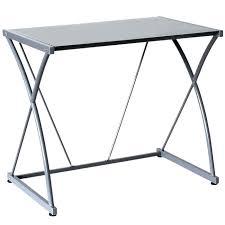 bureau verre but bureau plaque de verre atome bureau plateau verre gris bureau plaque