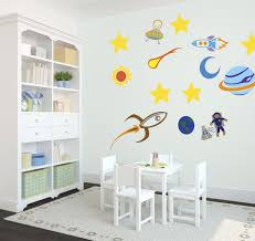 kids room wall decal ideas for wall decorations modern double full size of colorful outer space kids wall art decor decal design white hardwood painted storage