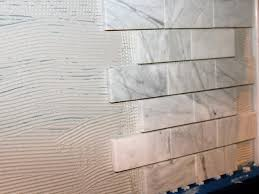 kitchen backsplash sheets how to install a marble tile backsplash hgtv