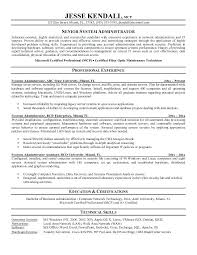resume format for administration it network administrator resume top 8 it network administrator