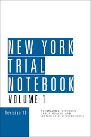 ny pattern jury instructions lexis new york trial notebook lexisnexis store