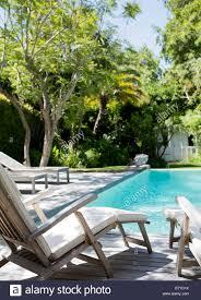Pool In Backyard by Lawn Furniture Stock Photos U0026 Lawn Furniture Stock Images Alamy