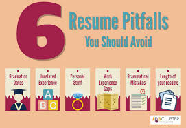 How To Shortlist Resumes 8 Awkward Mistakes On Resume You Should Avoid Jobcluster Com Blog