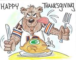 happy thanksgiving chicago bears happy thanksgiving bears fans