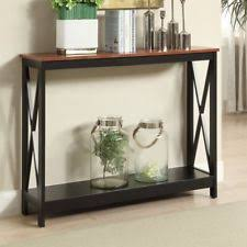 convenience concepts oxford console table convenience concepts oxford console table in cherry ebay