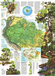 Maps Of South America by Amazonia A World Resource At Risk Maps Of South America