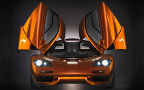 exotic cars lined up mclaren f1 the best car ever