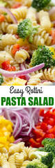 Simple Pasta Salad Recipe Easy Rotini Pasta Salad Culinary Hill