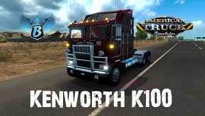 kenworth truck interior kenworth k100 aerodyne mod for american truck simulator ats