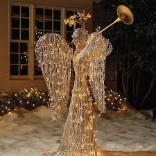 lighted christmas yard angels smartness outdoor angel christmas decorations wellsuited lighted