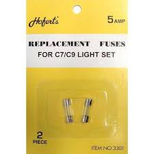 what is the difference between c7 and c9 lights pack of 2 replacement fuses for c7 or c9 christmas lights 5 amps