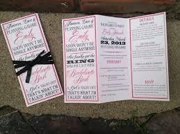 itinerary invitations