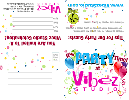 Invitation Card For A Birthday Party Zumba Parties Kid U0027s Birthday Parties Bachelorette Parties Party