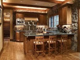 peninsula kitchen ideas hardwood breakfast bar exposed beams peninsula rustic quartz