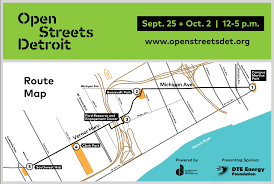 Dte Map Open Streets Events To Turn Major Detroit Roads Into Car Free