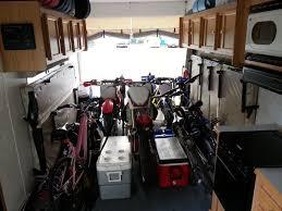motocross toy bikes secure dirt bikes in a toy hauler south bay riders