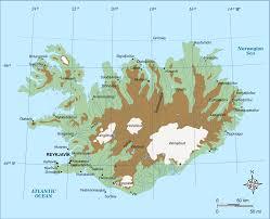 Iceland On World Map highlands of iceland wikipedia
