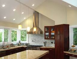 cathedral ceiling kitchen lighting ideas lighting in vaulted ceiling kitchenlighting co