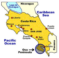san jose costa rica on map how to travel to blue osa resort retreat in costa rica
