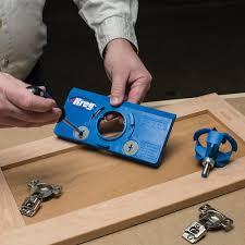 Kitchen Cabinet Hinge Template Kreg Tool Company Khi Hinge Concealed Hinge Jig