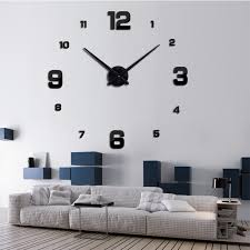 Aliexpresscom  Buy  Diy Large Wall Clock Modern Design Home - Modern design home accessories