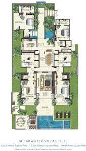security guard house floor plan villa style house plans courtyards narrow modern security guard