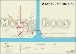 Metro Redline Map Istanbul Metro U2014 Map Lines Route Hours Tickets