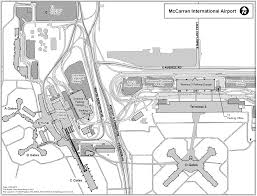 ground transportation maps at mccarran international airport