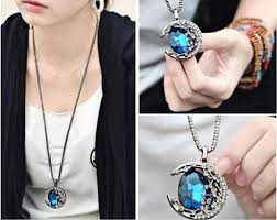 the vampire diaries crescent necklace wish list pinterest