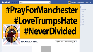 Black Jihad Flag Manchester The Hashtag U0026 Flag Filter Response Youtube
