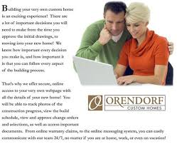 Custom Home Builder Online Builder Trend U2013 Orendorf Custom Homes