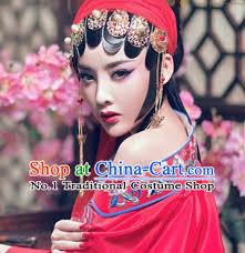 traditional handmade opera hair accessories