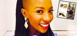pearl modiade hair style snaps pearl modiadie takes dubai with her boo channel24