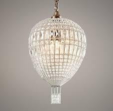 air balloon ceiling light air balloon crystal pendant chandeliers restoration hardware