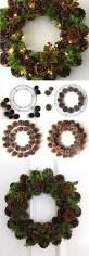 30 wonderful diy christmas wreaths pine cone abundance and pine