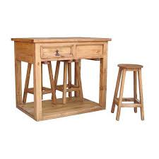 kitchen island with 4 stools shop million dollar rustic brown rustic kitchen island with 4