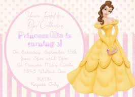 Personalized Birthday Invitation Cards Have To Have These For A Party Belle Pink Princess Birthday
