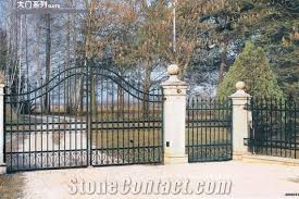 wrought iron gate fence from china stonecontact
