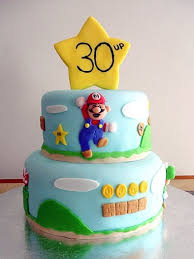 mario cake mario brothers birthday cake brown eyed baker