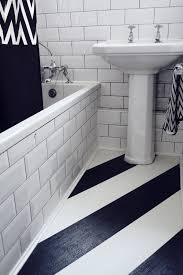 Black And White Laminate Floor Fitting Laminate Flooring In The Kitchen And Bathroom U2014
