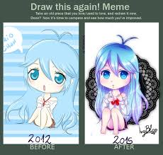 Meme Touwa - draw this again meme erio touwa by ivybloo on deviantart