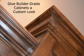 give builder grade cabinets a custom look how to build it