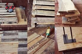 Diy Wooden Table Top by Wood Pallet Table Diy U2013 A Beautiful Mess