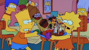 bart ruins thanksgiving season 2 episode 7 simpsons world on fxx